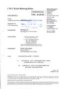 Medienrechtsverfahren wegen Verweigerung der Veröffentlichung einer Gegendarstellung vom Nachrichtenmagazin DER GLÖCKEL