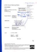 Faksimile der Klage vom NÖ HILFSWERK