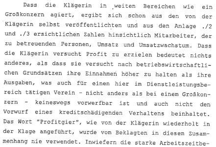 Landesgericht Korneuburg bestätigt Reportage vom Nachrichtenmagazin DER GLÖCKEL über das HILFSWERK ÖSTERREICH
