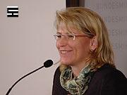 Bundesministerin für Jusitz Mag. Karin Gastinger