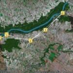 Der Arbeitstag - dargestellt mit Google Earth - zur Vergrößerung anklicken