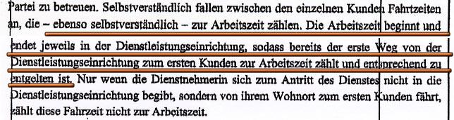 Faksimile aus dem Schriftsatz vom NÖ HILFSWERK in dem Verfahren vor dem Arbeits- & Sozialgericht Korneuburg