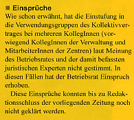 Betriebsrat: falscher Kollektivvertrag beim NÖ HILFSWERK