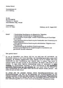 Faksimile des Briefes der HEIMHELFERIN an HILFSWERK-Präsident Dr. Ernst STRASSER und Geschäftsführer Mag. Gunther HAMPEL