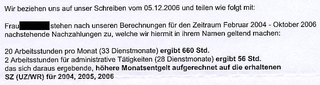 Faksimile: Aufforderung der NÖ ARBEITERKAMMER an das NÖ HILFSWERK