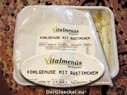 VITALMENÜ der Gustane Menü GmbH - nunmehr Kulinarik Gastronomie & Frischküche GmbH